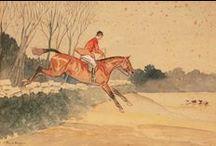 horses & riders in art 3