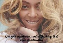 Celebspiration / Celebrity inspirational quote images made for girls, by girls! / by cambio