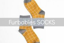 Furbabies SOCKS / For the modern lover of all things furry (& hairy & fluffy)