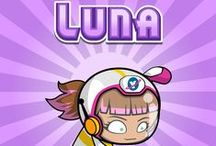 Luna - Dependable & Kind / Dependable and kind, Luna is also one of the best pilots in the bunch and loves to zoom through space.