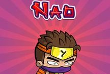 Nao - Patient & Agile / Nao has some serious ninja moves. He is a student of the ancient arts of Yogome.