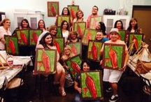 Show Off Your Masterpiece: Painting Parties