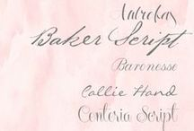 fantastic fonts / by Torina Scott-Steelsmith