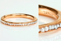 hunting. / search for a pearl engagement ring.