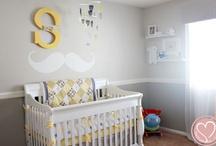 Boys rooms / Boys nursery ideas and decor tips for Sebatian's room or any boys room.