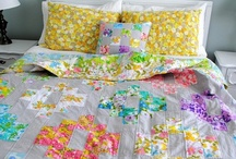 to make/sew/quilt: vintage edition / board of inspiration for vintage sheets!