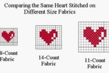 CROSS STITCHING & EMBROIDERY / STITCHES AND PATTERNS / by Margaret Richardson