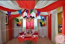 Parties / Fiestas / From Baby Showers to First Birthdays and more , get a glimpse insde mi casa and all our fun family parties  Fiestas Temáticas