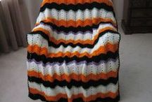 CROCHETED AFGHANS / I AM LOOKING FOR A CHEVRON AFGHAN PATTERN I CROCHETED SEVERAL OF BACK IN 1978. / by Margaret Richardson