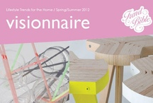 S/S 2012 Home  |  Visionaire / Trend Bible Home & Interior Trends Spring Summer 2012