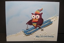 Cards_Owl Punch.1 / Bought it, for some reason.  Need to use it.  Hope to find some inspiration in these.