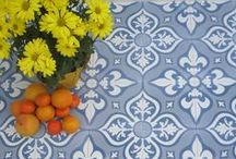 Villa Lagoon Tile Exclusives / Exclusive cement tile patterns from Villa Lagoon Tile.