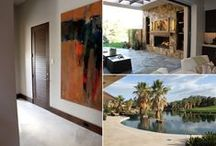 The Palm Desert Project / SunMountain provided beautiful full louver doors for the interior of this exclusive contemporary home in the Palm Desert, California area. The doors are made with select alder wood (with few, if any knots), and factory pre-finished in our dark Dyer Mountain glaze.