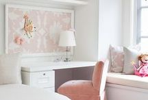 Girl Bedrooms / A collection of all of the little girl bedrooms that I like. / by SAHMconsulting