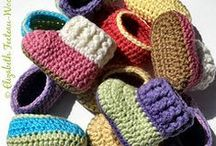 SLIPPERS, SOCKS, AND BOOTIES / THINGS TO KEEP YOUR FEET WARM ON A COLD DAY / by Margaret Richardson