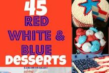 Celebrate 4th of July / Everything to celebrate 4th of July: food, drinks, crafts, decor.