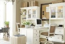 Home Office / Ideas for decorating and organizing a home office.