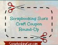 Craft Coupons, Deals & Savings / Weekly craft store coupon roundup, CTMH promotions, and other select deals, savings, and exclusives!