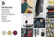 AW2016/17 Home | Off the Grid / Trend Bible Home & Interior Trends Autumn Winter 2016/17.