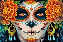 Day of the Dead / Halloween / Crafts, recipes, ideas to make Halloween and the Day of the Dead celebrations a fun family event.