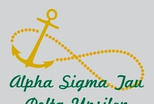 Alpha Sigma Tau / These designs were specifically made for or requested by the sisters of Alpha Sigma Tau. All of our designs can be customized to fit your organization or chapter needs! / by Greek Streak