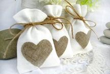 lavender sachets and cushions