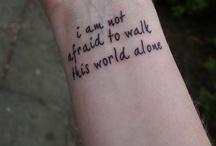 Tatts / by Michelle Weber-Zbylut