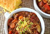 veg chili cook-off. / #vegetarian #chili