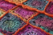 Crochet/Knit afghans and pillows
