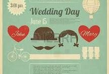 seating charts and save the dates