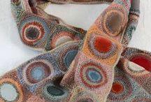 Crochet/Knit scarves/shawls/gloves
