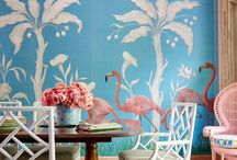 Sara Gilbane Interiors / View projects, furniture line, and fabric wallpaper line by Sara Gilbane Interiors, LLC