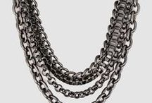 B&W | Chain Reaction SS15 / French-style or boxed chain? Take your look from day to night with our updated Chains collection for SS15.