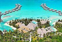 Tropical Luxury Resorts / Great Honeymoon or Destination Wedding Resorts