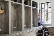 interiors: entry/mudroom