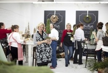 Craft Classes and Creative Spaces