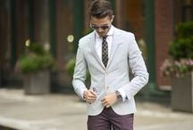 Well-Suited / Tall, dark and handsome. Suit up boys: http://www.wantering.com/mens-clothing/suits/ / by Wantering Fashion