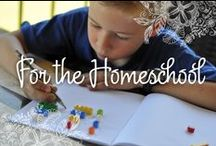 For the Homeschool / Inspiration and ideas for the full-time homeschooling family and for parents who want to supplement a school-based education.