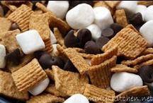 Snowshoeing snacks