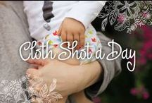 Cloth Shot A Day / Annual cloth nappy love fest! Share your #clothshotaday images during October.