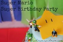 Super Mario Party Ideas / by Miranda W