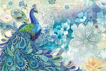 Peacocks! / by Karen