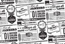 Design: Branded Patterns / Logos, branding, patterns. / by Arielle Weiler