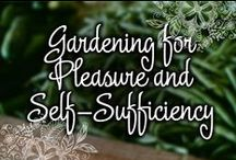 Gardening for Pleasure and Self-Sufficiency