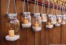 Crafts - Mason Jars / Crafts featuring Mason Jars #craft #diy #tutorial #handmade #homemade #masonjar