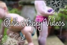 Cloth Nappy Videos / Demonstration and instructional videos for the types and brands of cloth nappies and nappying accessories we distribute.