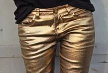 Metallics / Designers have put the pedal to the metal, amping up mirror metallic finishes and iridescent fabrics. Go all shiny: http://www.wantering.com/womens-clothing/metallic/ / by Wantering Fashion