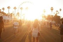 Festival / This summer you're swinging by Coachella, Lollapalooza, Glastonbury, Gov Ball and more. Search and shop festival style: http://www.wantering.com/inspiration/festival-style-for-her/ / by Wantering Fashion