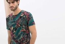 Florals for Men / A big trend for men is floral prints on everything from shirts to blazers to suits. To add this trend to your spring wardrobe check out http://www.wantering.com/mens-clothing/floral+print/ / by Wantering Fashion