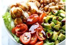 Fresh Fruit Recipes and Salad Recipes / My favorite fresh fruit recipes and salad recipes. #holiday #diy #tutorial #recipe #gift #food #fruit #freshfruit #salad